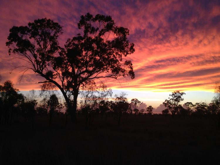 4 Goondiwindi Sunset 26Nov2014